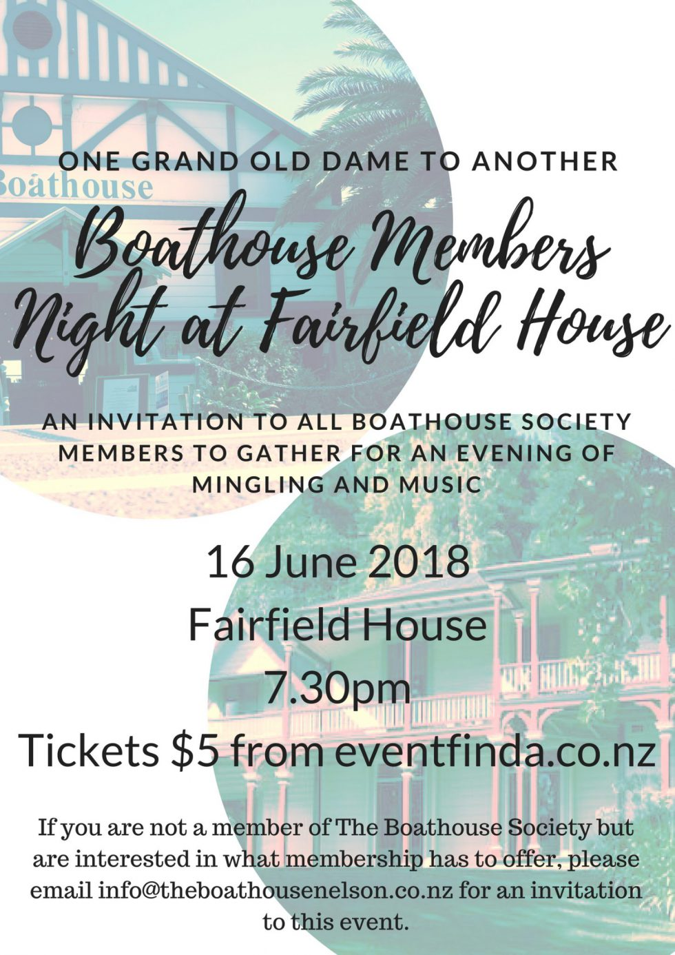Mingling And Music At Fairfield House With The Boathouse 🗓