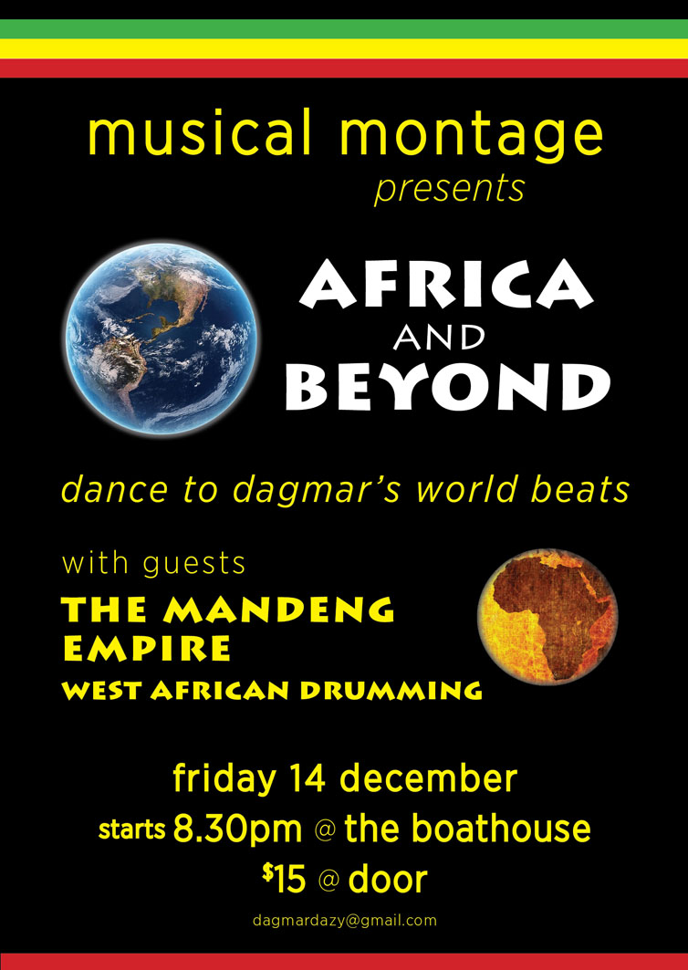Musical Montage: Africa And Beyond 🗓