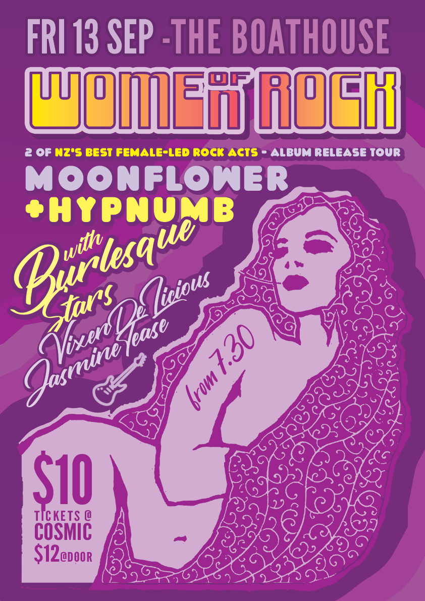 Women Of Rock Ft Hypnumb, Moonflower And Live Burlesque (R18) 🗓