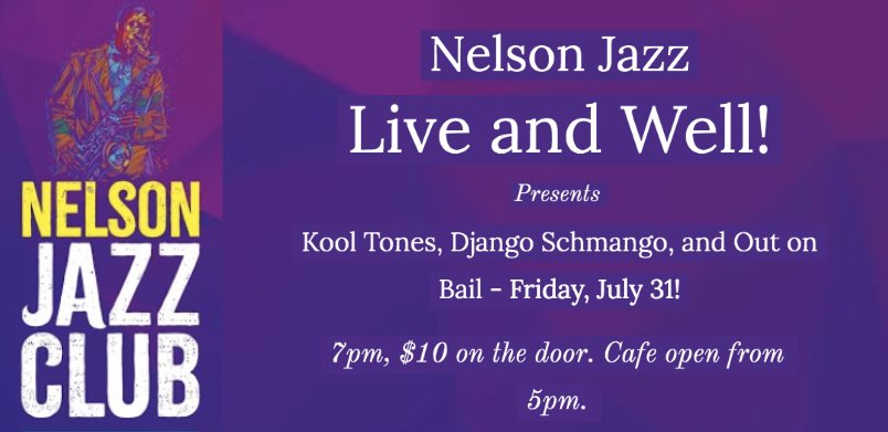 Nelson Jazz- Live And Well 🗓