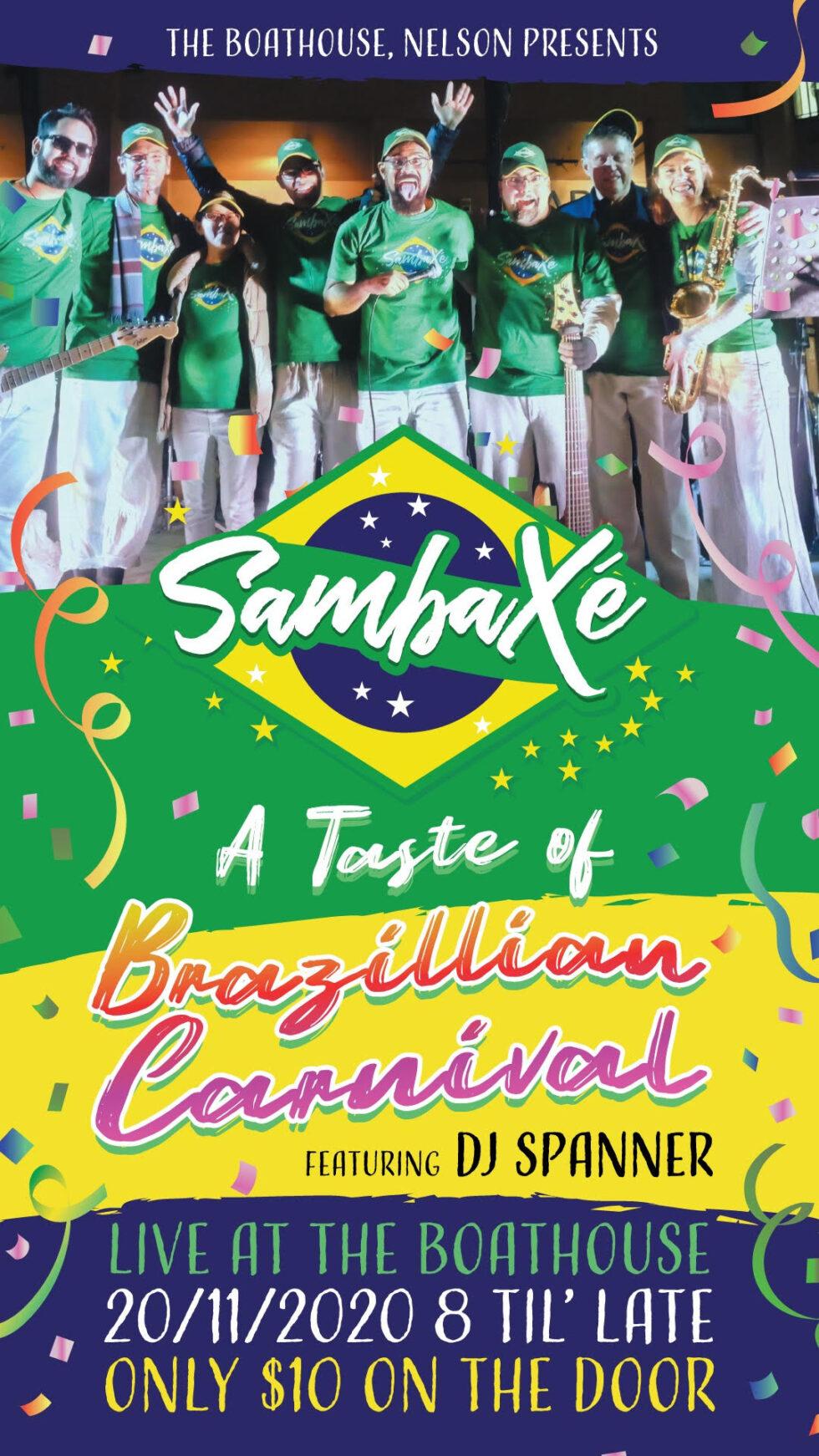Taste Of Brazilian Carnival 🗓