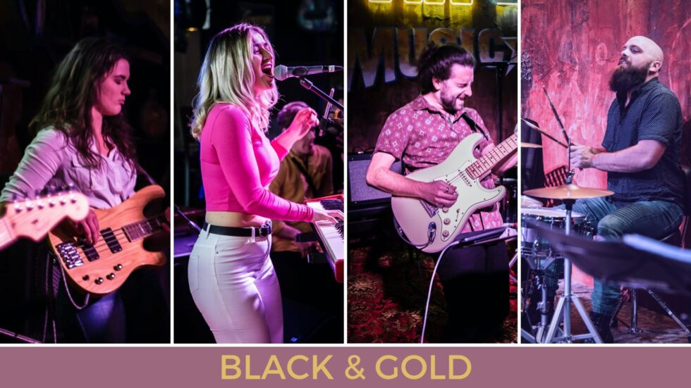 BLACK&GOLD AT THE BOATHOUSE 🗓